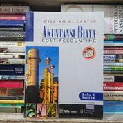Buku Akuntansi Biaya - Cost Accounting Jilid 2 Oleh William K Carter