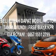 Beli Rumah 2 Lantai Bonus Honda Brio Tanpa Di Undi Free Semua Biaya Awal (KPR, BPHTB DLL)