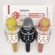 Microphone Karaoke Bluetooth (Speaker+Mixer+Recorder) (16268837) di Kota Depok