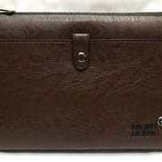 Tablet/Hand Bag Leather Coklat (16280525) di Kota Jakarta Selatan