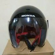 Helm Half Face Original Honda Scoopy