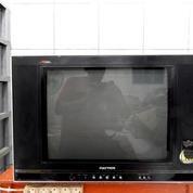 """Tv 21""""PoLyTRoN X CeL Layar Datar Mesin Ori Jernih KATAPANG SOREANG (16297469) di Kab. Bandung"""