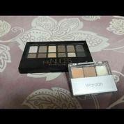 Maybeline Eyeshadow Palete + Wardah Double Function Kit (16300597) di Kota Surabaya