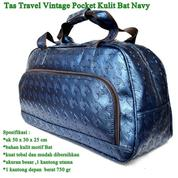 Tas Travel Vintage Pocket Kulit (16309185) di Kota Jakarta Pusat