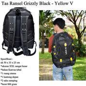 Tas Ransel Sport Aiger Grizzly Black Yellow (16323569) di Kota Jakarta Timur
