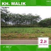 Tanah Luas 846 Di Poros Jalan KH. Malik Buring Kota Malang _ 442.28 (16329365) di Kota Malang