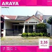 Rumah 2 Lantai Luas 225 Di PBI Araya Kota Malang _ 451.18 (16342361) di Kota Malang