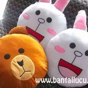 Bantal Lucu Line (1639865) di Pandaan