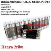 Obral Batrai / Baterai Battery ABC Ultra Power (16427177) di Kota Jakarta Pusat