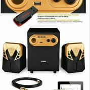 Speaker Aktif Dazumba DW266 With Bass Kontrol - Bluetooth And USB (16480821) di Kota Surakarta