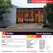 Gudang Jl. H. Abdul Hamid, Duri Kosambi, Jakarta Barat, 15x40, 1 Lt, SHM (16652139) di Kota Jakarta Barat