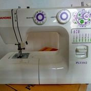 Mesin Jahit JANOME PLT 3312 Mulus Seperti Baru