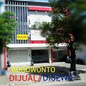 Ruko Bogowonto Surabaya Pusat Tengah Kota Nol Jalan (16757183) di Kota Surabaya