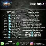 Skin Mobile Legends 254 Diamond Murah || Legal || Android & Ios (16779151) di Kota Jakarta Barat