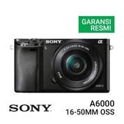 Mirrorless Digital Camera SONY Alpha A6000 KIT Lens 16-50MM (16921343) di Kota Surabaya
