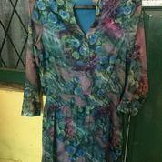 Baju Blous Panjang Wanita Motif Bunga (16930419) di Kota Bekasi