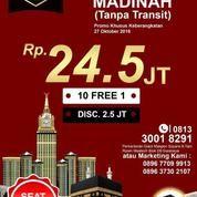 Gebyar Promo Umroh Langsung Madinah 29 Oktober 2018 (16969107) di Kota Surabaya