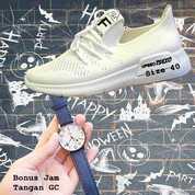 SALE - Sepatu Wanita Fashion Upseo Tsexo White Free Jam Tangan (16978783) di Kota Tangerang