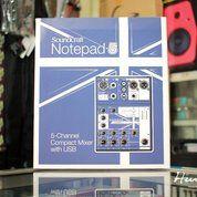 Soundcard Recording Soundcraft Notepad 5 Mixer USB Recording (16981107) di Kota Bandung