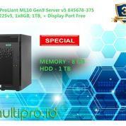 Server HP Proliant ML10 Gen9 E3-1225 V5 8GB 1TB 845678-375 (16996875) di Kota Jakarta Utara