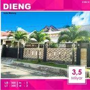 Rumah 2 Lantai Luas 300 Di Bukit Dieng Kota Malang _ 558.18 (17022115) di Kota Malang