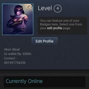 Akun Pribadi ID Steam DOTA 2