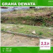 Tanah Kavling Luas 337 Di Graha Dewata Dinoyo Kota Malang _ 563.18 (17054323) di Kota Malang