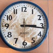 """Jam Dinding Listrik Antik / Jadul - MERK """"RIGHT"""" (17091779) di Kota Surabaya"""