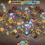 AKUN CASTLE CLASH SERVER US MIGHT 224K (17117623) di Kota Magelang