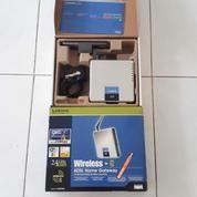 Linksys WAG200G - Modem ADSL Wireless Router (17133223) di Kota Surabaya