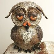 Brown Coconut Owl