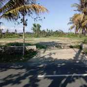 Tanah Kosong Di Jalan Utama Pantai Purnama Gianyar Bali