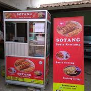 Gerobak Usaha Paketan Sotang - Sosis Kentang / Hotang Jakarta