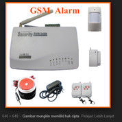 Diskon GSM Alarm LCD Security Wireless Autodial Home Intruder System NEW 2018 Murah