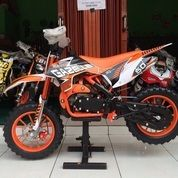 Motor Mini Trail Cross 50cc MT4A Gazelle Bensin Mainan Anak