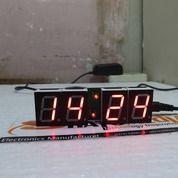 Jam Digital 0,8 Inch Merah