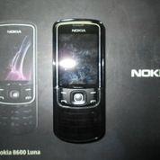 Hape Jadul Langka Nokia 8600 Luna Mulus Kolektor Item (17227707) di Kota Jakarta Pusat