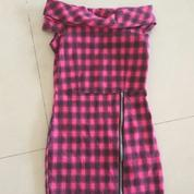 Dress Kotak Pink Anak Preloved (17233255) di Kota Magelang