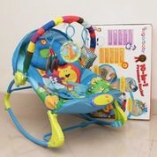 Baby Bouncer Bayi Baby Rocker Kursi Balita Mainan Anak Car Seat Carrier SugarBaby BabySafe
