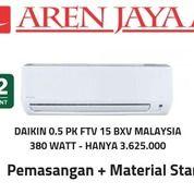 AC Daikin 0.5 PK Low Watt Malaysia Gratis Pemasangan