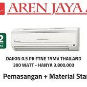 AC Daikin 0.5 PK Thailand Gratis Pemasangan