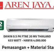 AC Daikin 3/4 PK FTNE 20 MV Thailand Gratis Pasang