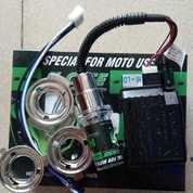 Lampu HID Motor Universal X-Case 6000Kelvin