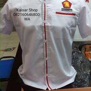 Baju Kemeja Partai Gerindra Berkarya PPP Hanura Demokrat PKB Dll (17278915) di Kota Medan
