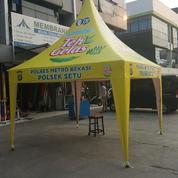 Tenda Kerucut Promosi Aneka Warna (Bisa Print Logo)