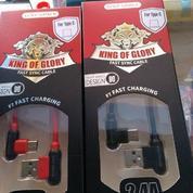 Kabel Data Type C 1M Golf King Of Glory Suport Joystick Mobile Legend