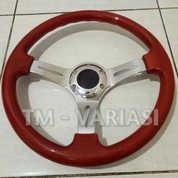 Stir Racing Wood Colour Import 14 Inchi Palang Chrome Premium (17382771) di Kota Jakarta Pusat