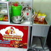 Waralaba Usaha Snacks Crispy Chicken Booth Portable