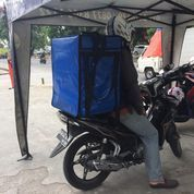 Tas Delivery Biru Polos (17458059) di Kota Jakarta Barat
