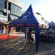 Produksi Tenda Kerucut Beragam Ukuran Dan Warna